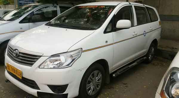 toyota innova car hire
